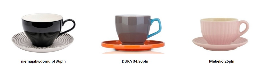 naczynia kawa