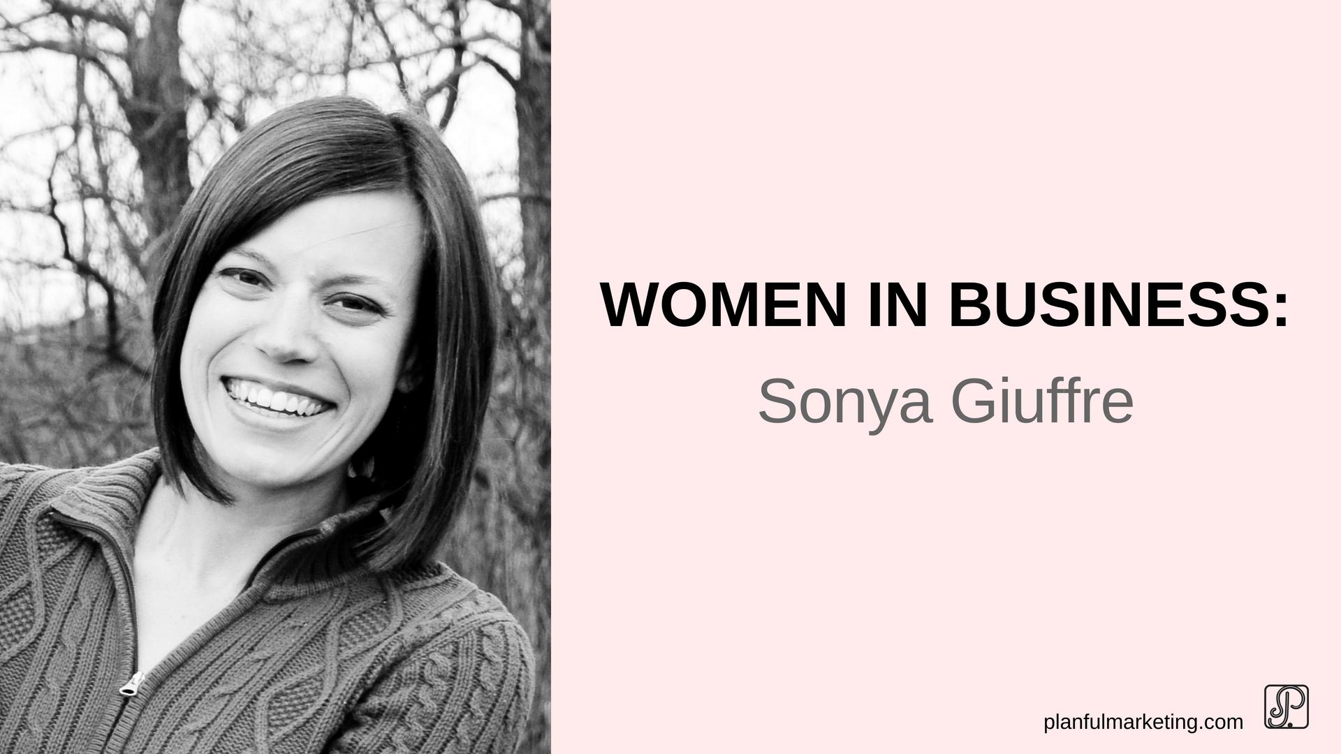 women in business sonya giuffre