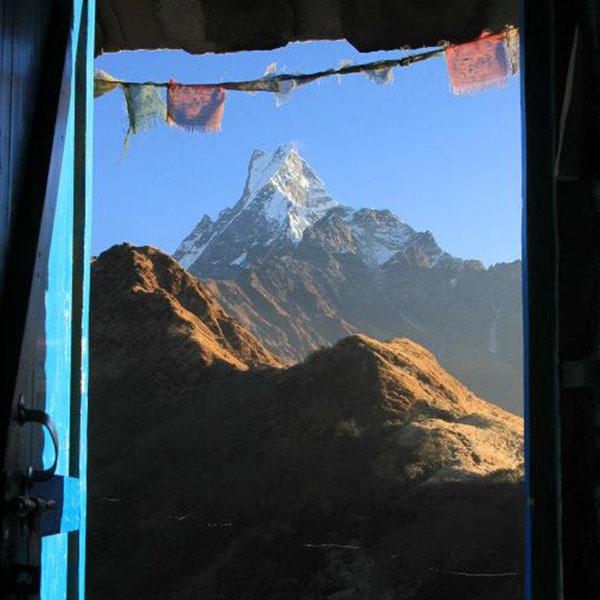 Mardi Himal Machhapuchhre porta QUAD