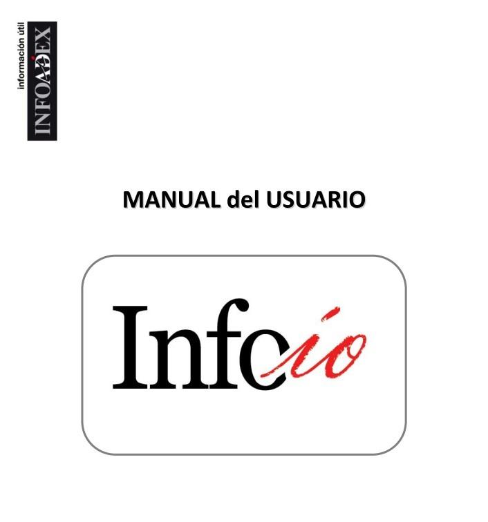 Manual de InfoIO (Infoadex)