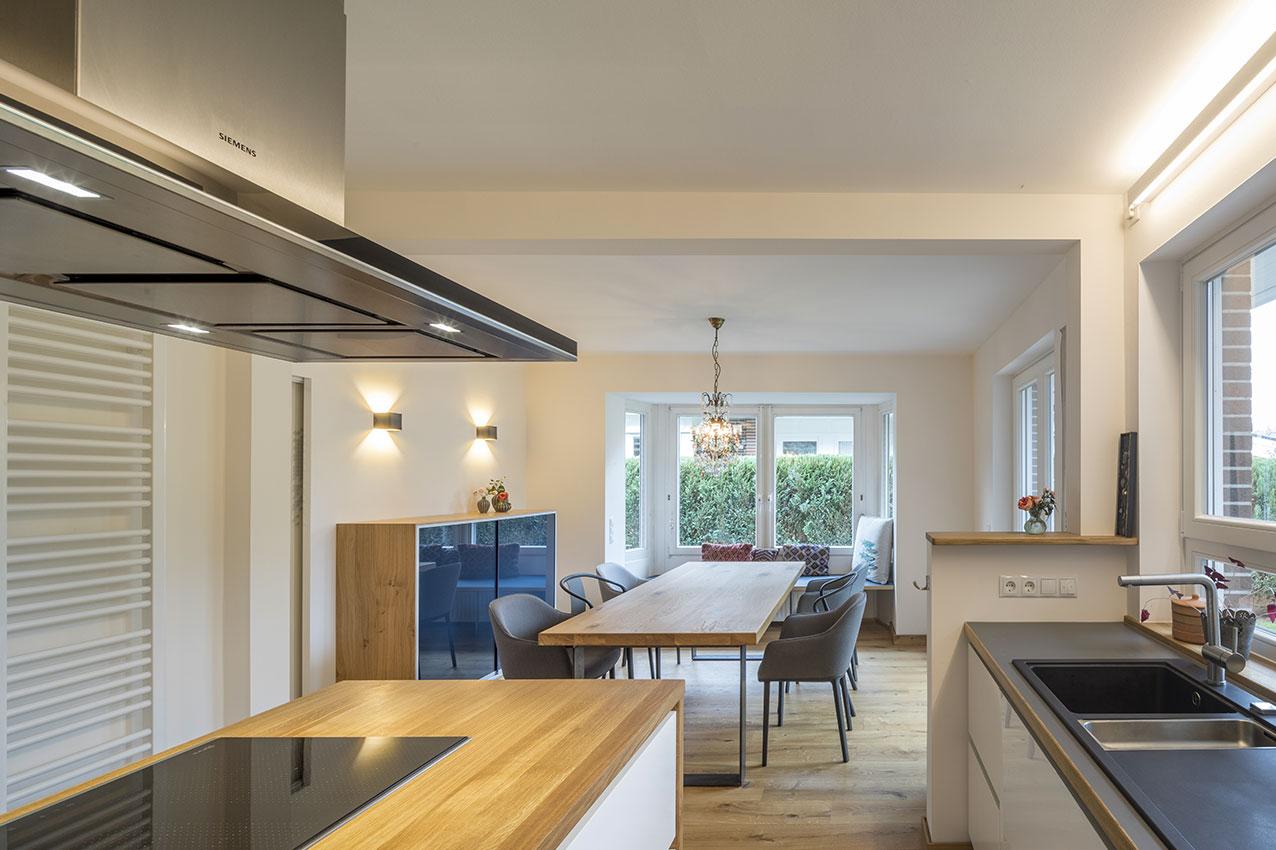 Offene Küche Doppelhaushälfte