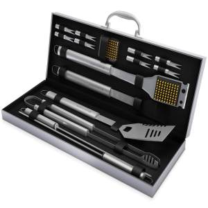 16 Piece Barbecue Accessory Tool Set