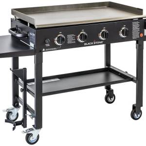Blackstone Outdoor Flat Top Propane Gas Grill Griddle Station