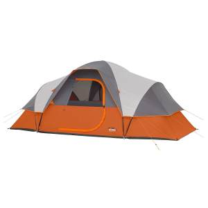 CORE 9 Person Extended Dome Camping Tent