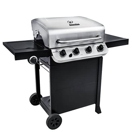 Char Broil 475 4-Burner Cart Propane Gas Grill