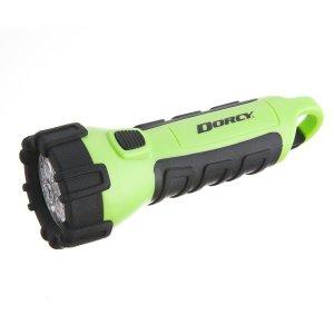 Dorcy Neon Green Floating Waterproof LED Flashlight