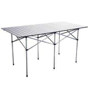 Giantex Roll Up Portable Folding Camp Table