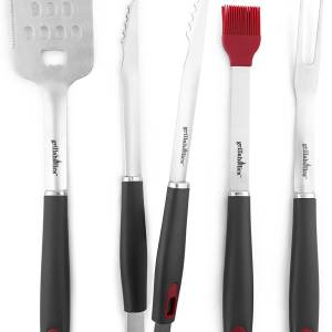Grillaholics 4 Piece Barbecue Grill Set