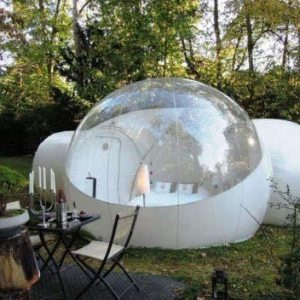 RelaxNow 2 Tunnel Transparent Bubble Tent