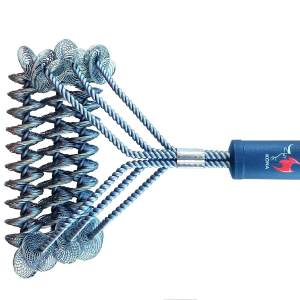 Stainless Steel Bristle Free Barbecue Grill Brush