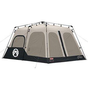 Coleman 8-Person Black Instant Tent