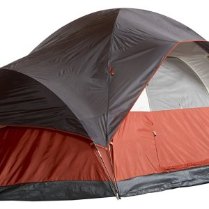 Coleman 8 Person Red Canyon Family Camping Tent