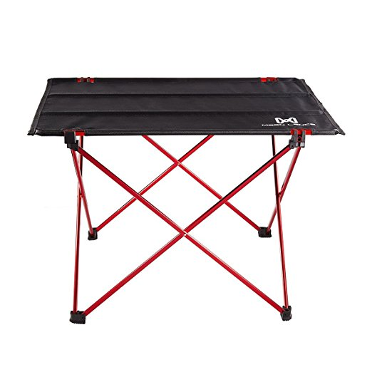 Moon Lence Ultralight Folding Roll Up Camping Picnic Table