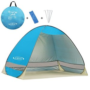 Outdoor Automatic Pop up Instant Beach Shelter