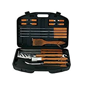 Mr. Bar-B-Q 18-Piece Barbecue Tool Set with Storage Case