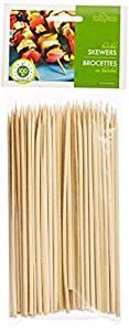 Set of 100 Fox Run Bamboo BBQ Skewers