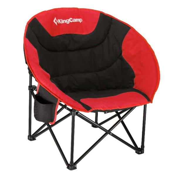 KingCamp Moon Saucer Camping Chair with Carry Bag