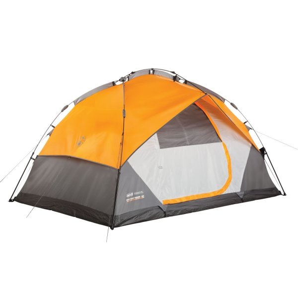 Coleman Instant Dome 5 Person Camping Tent with Integrated Fly