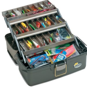 Plano Guide Large 3 Tray Fishing Tackle Box