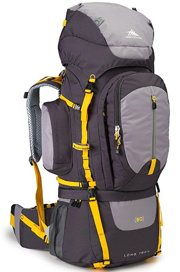 High Sierra Long Trail 90L Frame Hiking Pack