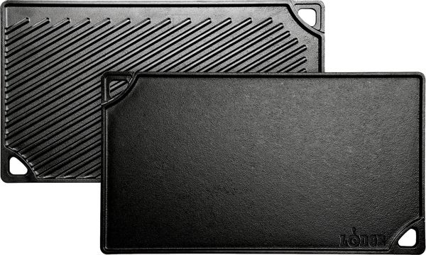 Lodge Reversible Double Play Camp Grill Griddle