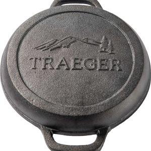 "Traeger 9"" Cast Iron Cornbread Skillet"