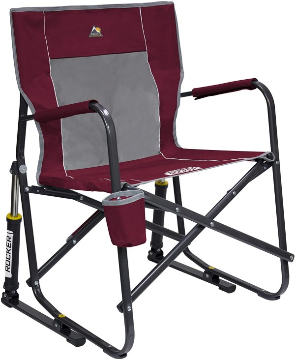 GCI Outdoor Freestyle Portable Folding Rocker Chair