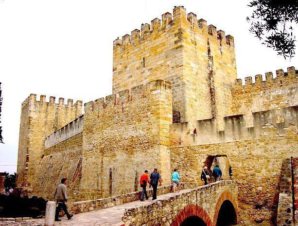 Castelo de San Jorge Lisboa