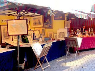 Mercadillo antiguedades Bruselas