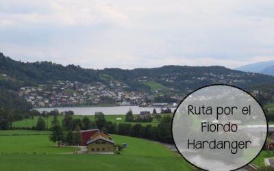 Ruta por el Fiordo Hardanger