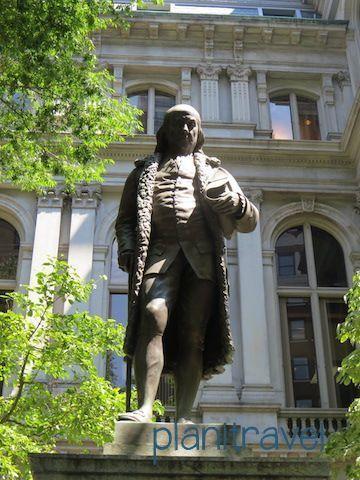 Estatua Benjamin Franklin