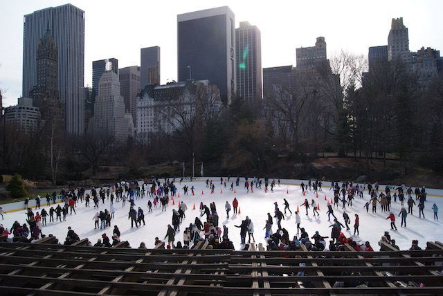 Patinar en Central Park