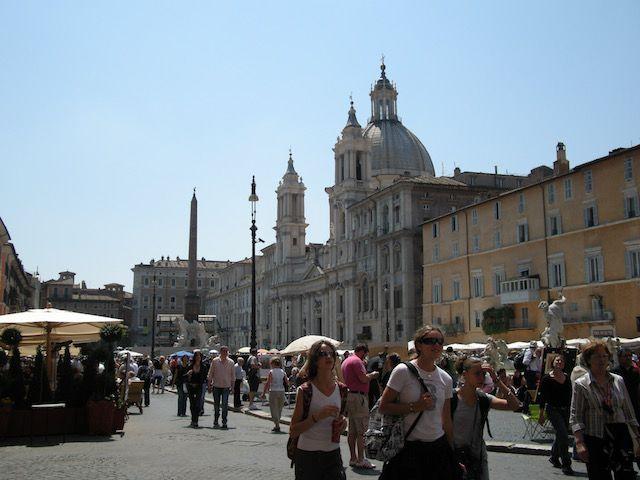 Que ver en la Plaza Navona Roma