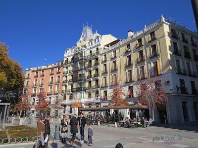 Plaza de Oriente Madrid