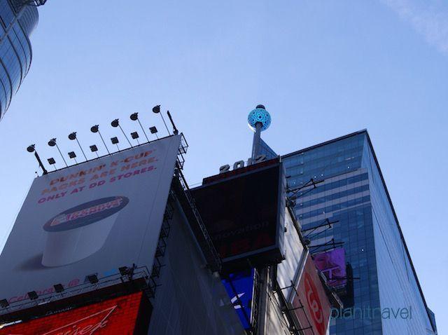 Bola en Times Square