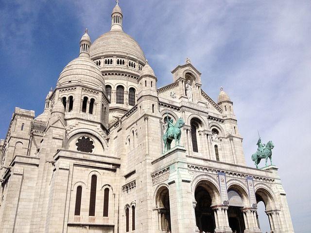 Fachada Sagrado Corazon Paris