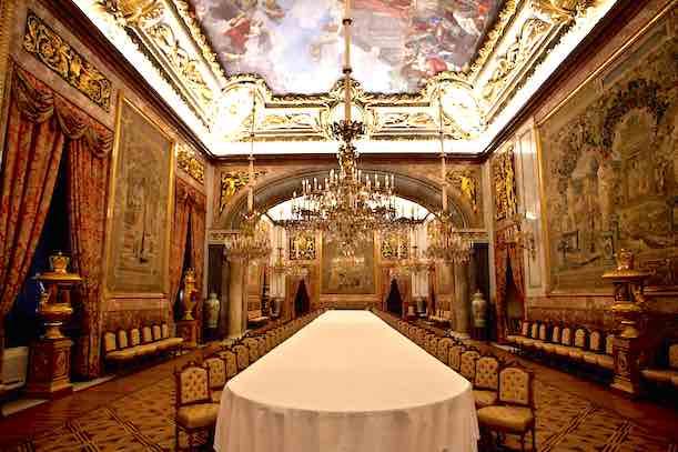 Visitar el Palacio Real 2