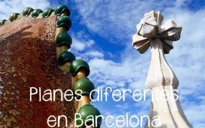 Planes para disfrutar en Barcelona