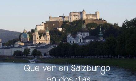 Que hacer y ver en Salzburgo en dos días