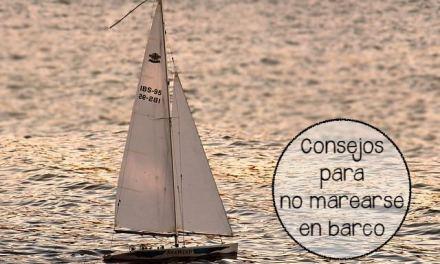Consejos para no marearse en barco