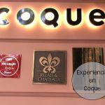 Experiencia Gastronómica en Restaurante Coque
