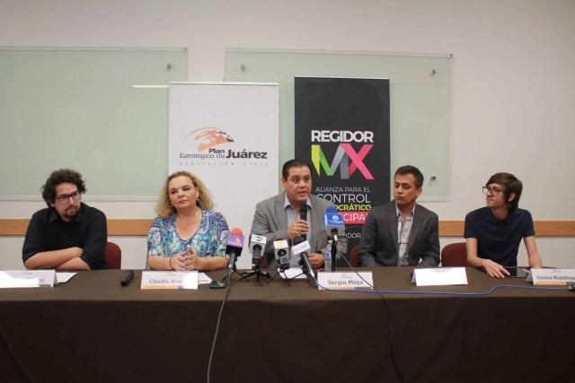 Presenta PEJ Informe Ciudadano 2016-2018