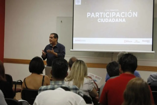 Dialogan sobre Participación Ciudadana