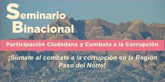 Conversarán fronterizos sobre Participación Ciudadana y Combate a la Corrupción