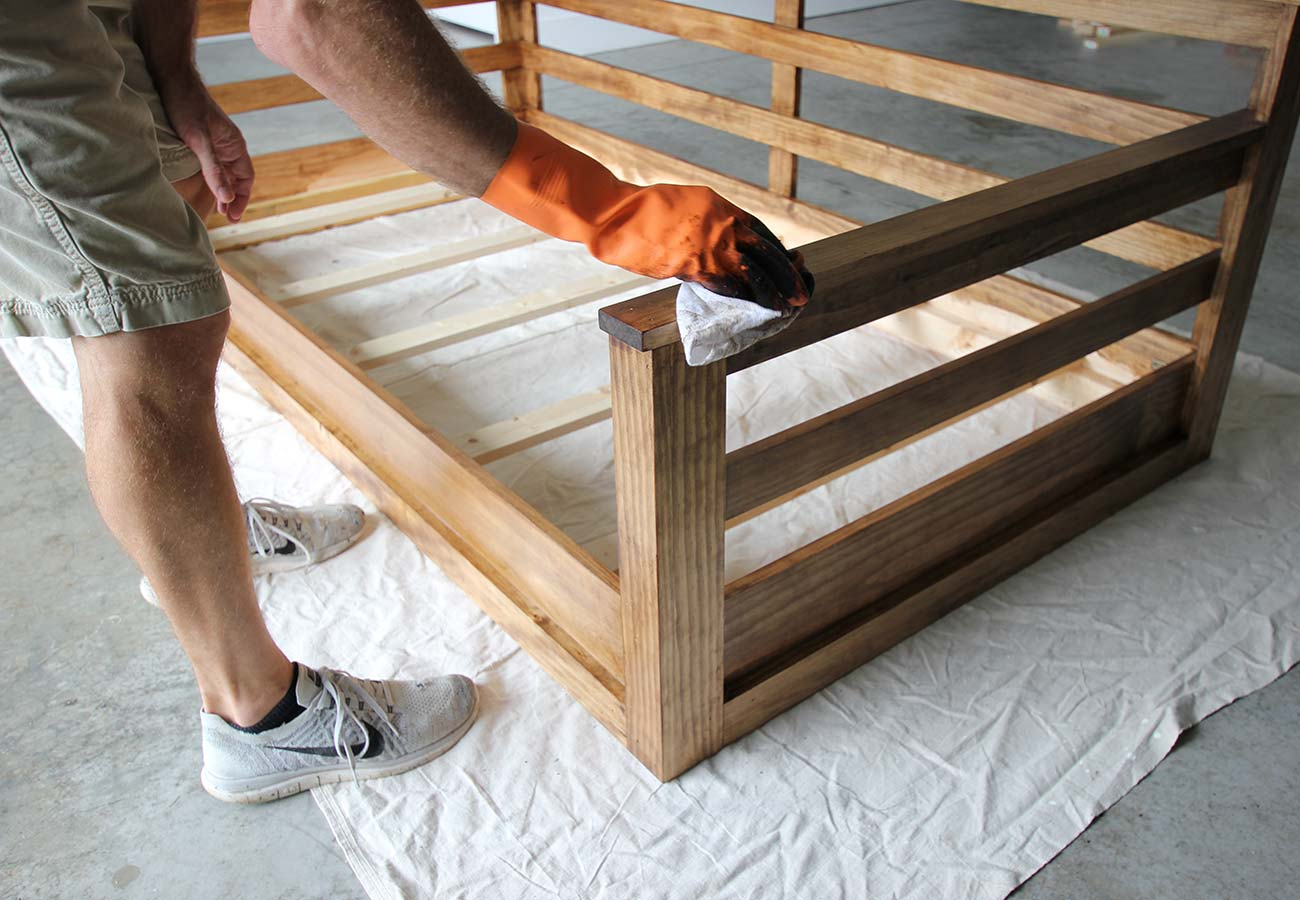 how to build a porch swing bed plank