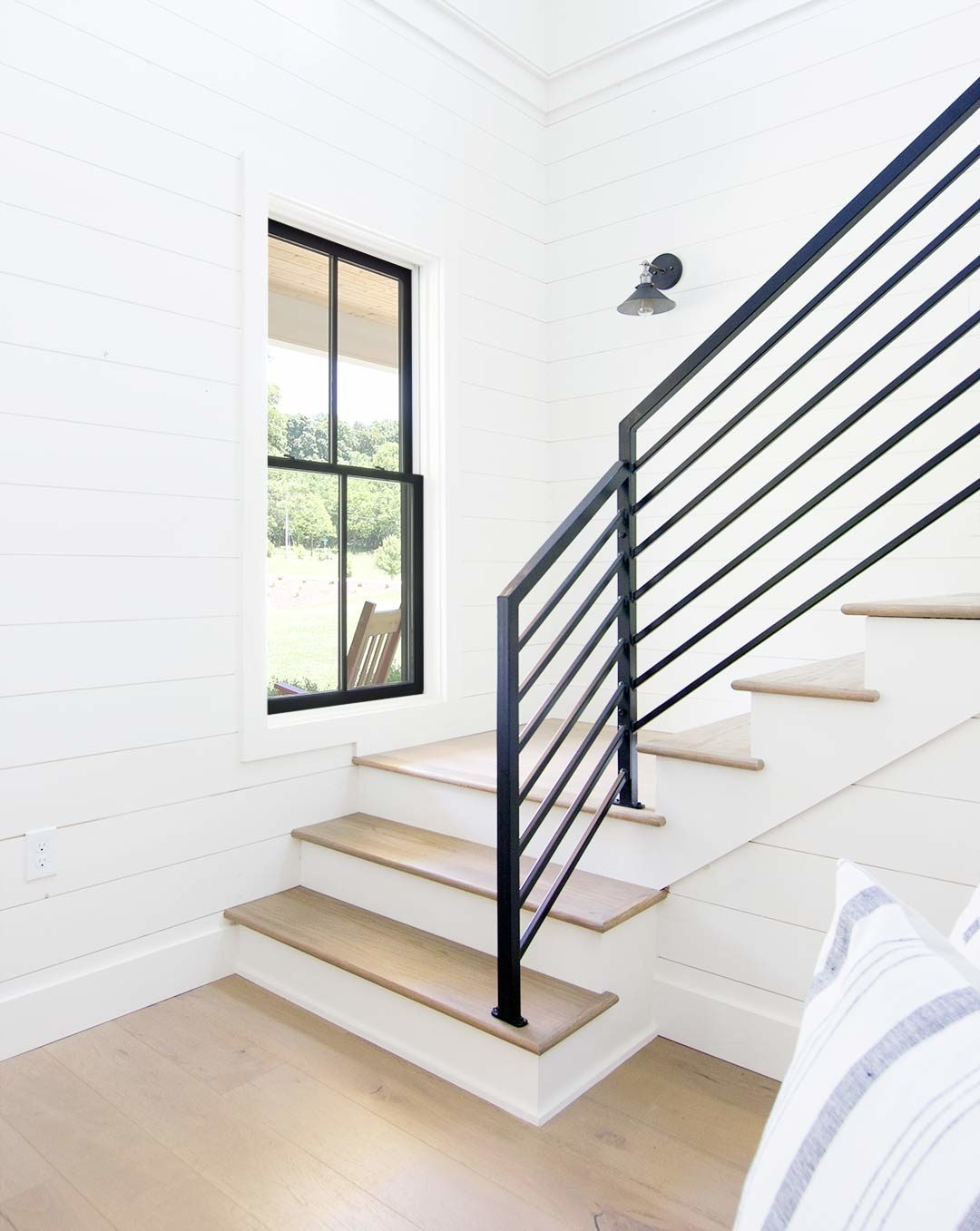 How To Match Solid Stair Treads To Prefinished Hardwood Flooring | Prefinished Oak Stair Treads | Natural Red Oak | Risers | Hardwood Flooring | Stair Parts | Flooring