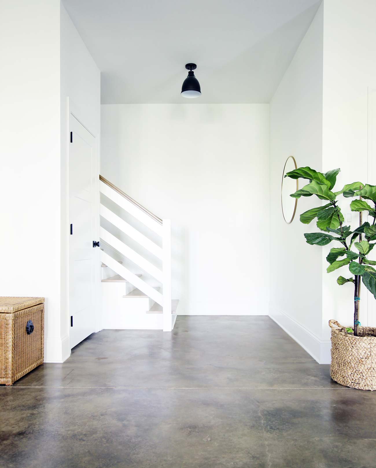 how to acid stain a concrete floor
