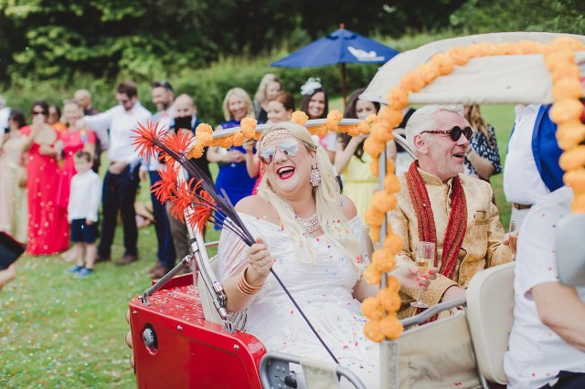 Second Time Married for a Couple & Their Colourful & Fun, Bollywood & Indian Inspired Wedding