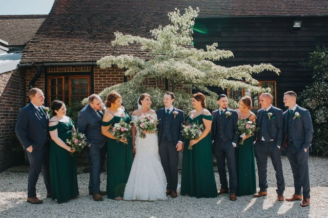 A Secret Garden Inspired Barn Wedding