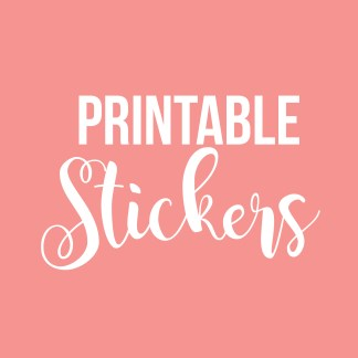 Printable Stickers